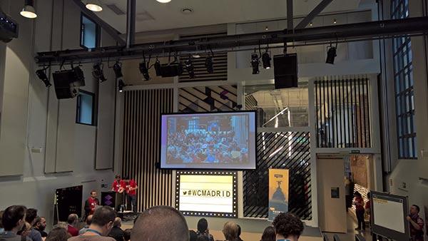 WordCamp Madrid. Presentación