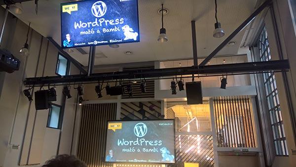 WordCamp 2017 - WordPress mató a Bambi. Fernando Tellado