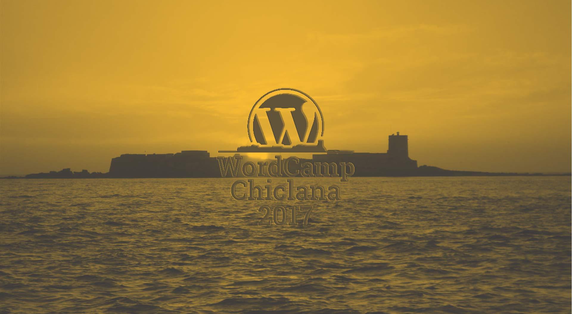 WordCamp Chiclana – 7 y 8 de octubre de 2017